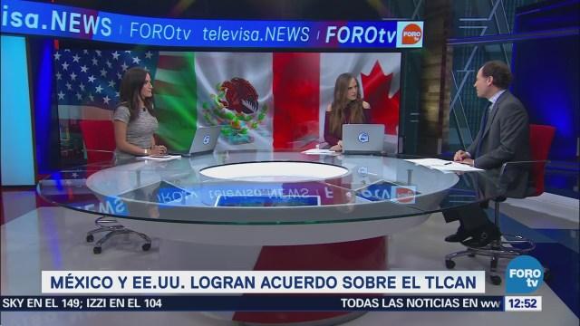 Javier Tello analiza acuerdo del TLCAN entre México-EU