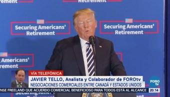 Javier Tello Analiza Situación Comercial Estados Unidos Canadá