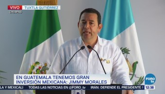 Jimmy Morales se suma al proyecto de AMLO para resolver fenómeno migratorio
