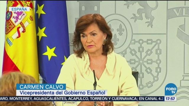España Aprueba Exhumar Los Restos De Francisco Franco Francisco Franco Vicepresidenta Carmen Calvo Tumba De Estado Para Un Dictador