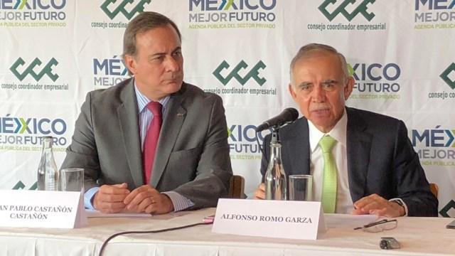 Empresarios no tendrán estímulos fiscales, dice Alfonso Romo