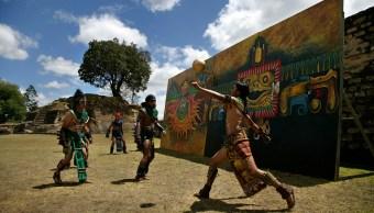 Juego de pelota maya; rescatan tradición en Campeche