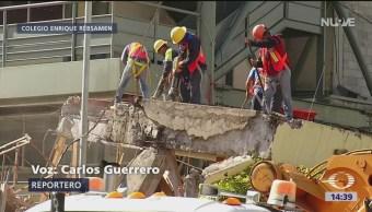 Continúa Demolición Del Colegio Rébsamen Trabajos De Demolición Colegio Enrique Rébsamen