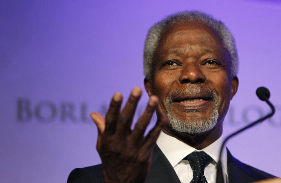 Legado de Kofi Annan será siempre una inspiración para todos
