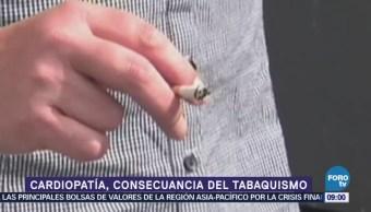 La cardiopatía, consecuencia del tabaquismo