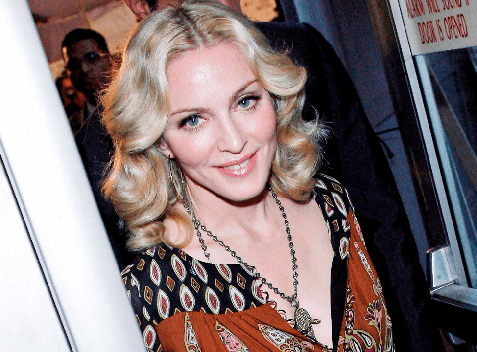 FOTO: Madonna acusa a Trump de inventarse una guerra con Irán, el 15 de enero de 2020