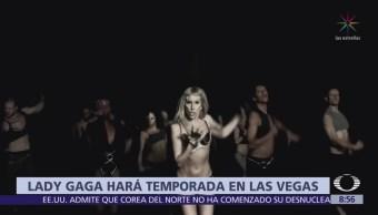 Lady Gaga presentará show en Las Vegas