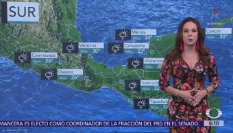 Pronostican lluvias aisladas en Baja California, Tamaulipas