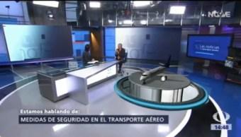 En 90 segundos evacuaron avión de Aeroméxico siniestrado