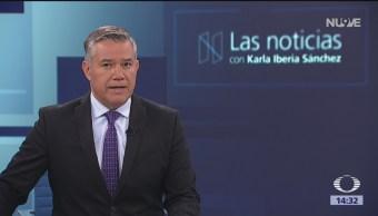 Las Noticias, con Karla Iberia: Programa 22 de agosto 2018