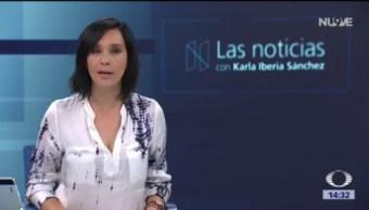 Las Noticias, con Karla Iberia: Programa del 3 de agosto de 2018