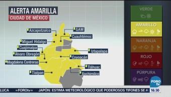 Activan Alerta Amarilla Cdmx Lluvias Secretaría De Protección Civil 12 Delegaciones Ciudad De México