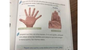 libro texto sep publica mano seis dedos