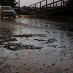 Lluvias provocan encharcamientos en el sur y norte de CDMX