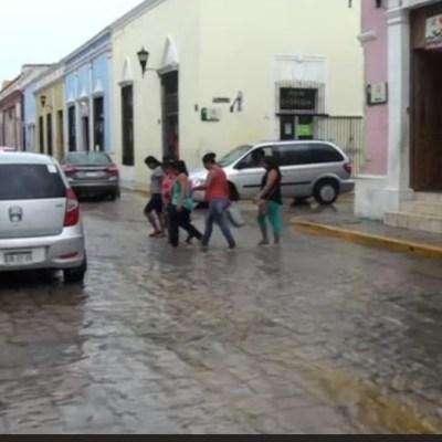 Lluvias en Campeche afectan a seis municipios; continuará el calor