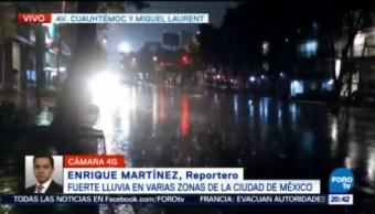 Lluvias Ciudad De México Tráfico Inundaciones Tráfico