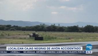 Localizan Cajas Negras Avión Accidentado Durango