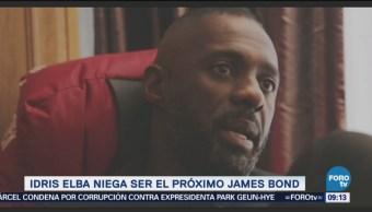 Idris Elba dice que no será el siguiente 'James Bond'