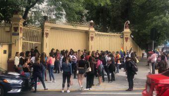 integrantes comunidad lgbt se manifiestan embajada rusia mexico