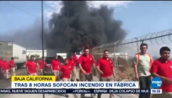 Incendio En Fábrica De Jacuzzis Baja California Evacuación De Trabajadores