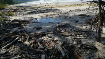 Asesinan a mexicana en playa de Costa Rica