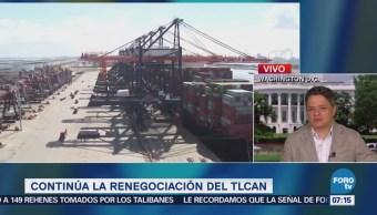 México busca cerrar negociación del TLCAN el jueves