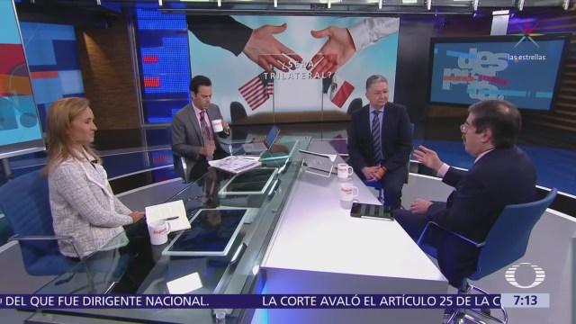 ¿México se beneficia con el acuerdo TLCAN con Estados Unidos?