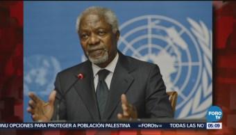 Muere Kofi Annan Exsecretario Naciones Unidas Organización De Las Naciones Unidas (Onu) Premio Nobel De La Paz