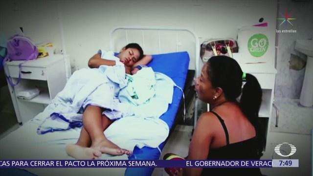 Mujeres embarazadas de Venezuela buscan atención médica en Brasil