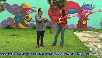 Murales en Central de Abasto CDMX evitan grafiti y basura