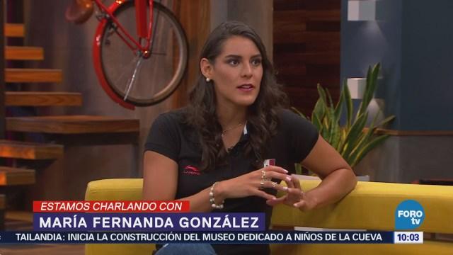 Nadadora María Fernanda González, máxima medallista en juegos centroamericanos