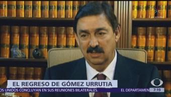 Napoleón Gómez Urrutia buscará presidir Comisión Economica