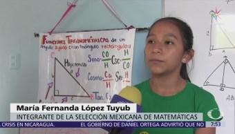 Niña maya reconocida a nivel mundial