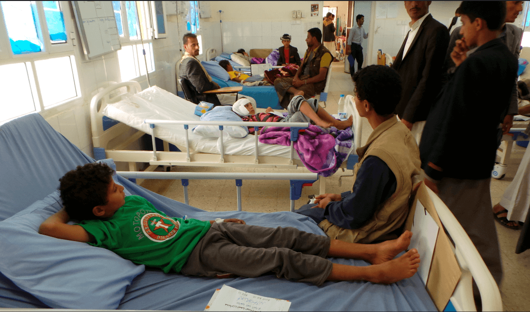 Dos mil 400 ninos han muerto en Yemen