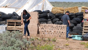 Niños secuestrados en Nuevo México entrenados para tiroteos