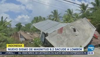 Nuevo sismo sacude Indonesia