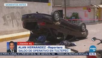Operativo en Tultepec no deja detenidos