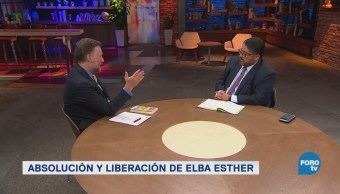Elba Esther Gordillo Absolución Libertad Debate