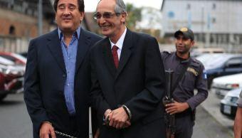 liberan expresidente guatemala pago fianza