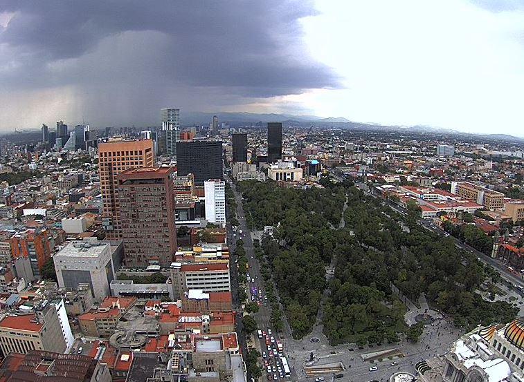 Prevén lluvias y tormentas para la Ciudad de México