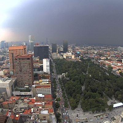 Prevén tormentas y granizo para la Ciudad de México