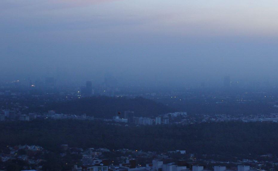 Centro de Cdmx presenta regular calidad del aire