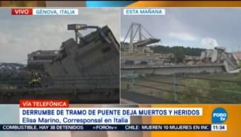 Italia Teme Aumente Número Muertos Génova
