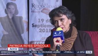 Patricia Reyes Spíndola disfruta de la comedia teatral