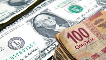 Peso mexicano avanza frente al dólar y BMV sube 0.78%