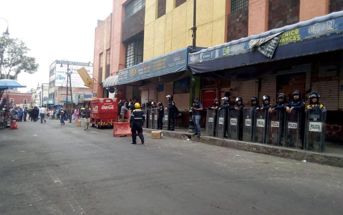 Celulares Robados en Plaza Meave asegura la Policía CDMX