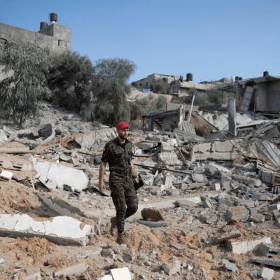 Gaza vive ola de violencia; Hamas dispara proyectiles e Israel bombardea