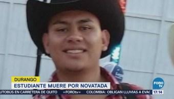 Por novatada muere estudiante normalista en Durango