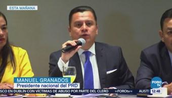 PRD define coordinadores en la Cámara de Diputados