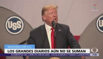 Prensa de EU se une para responder a Trump